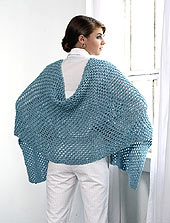shawl back
