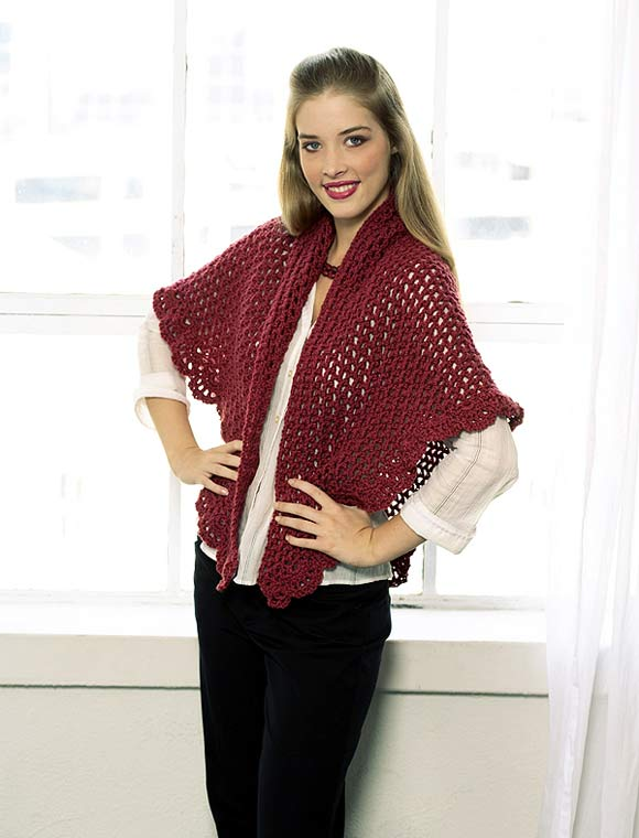 triangular Shawl to crochet