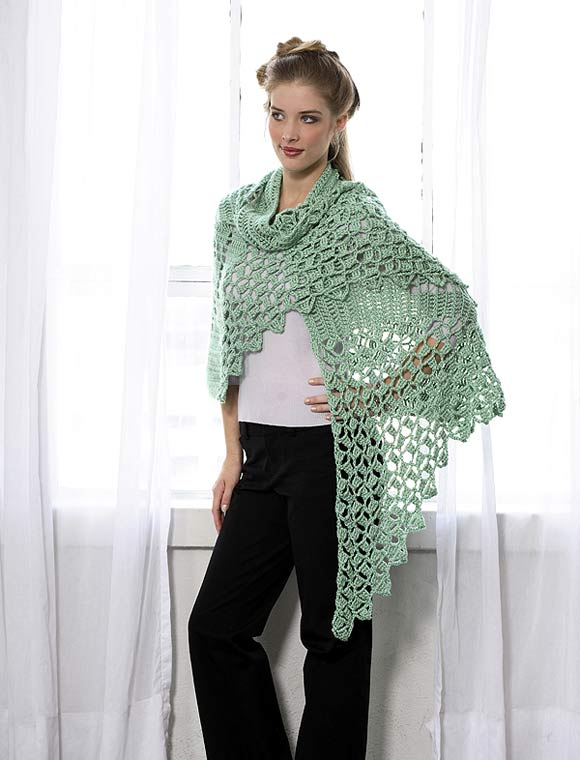 Triangular Shawl to Knit Pattern