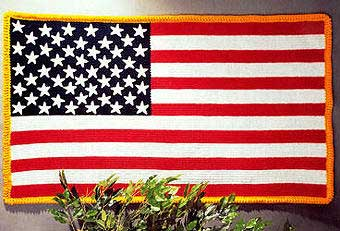 Stars & Stripes Afghan Welcome to the Craft Yarn Council