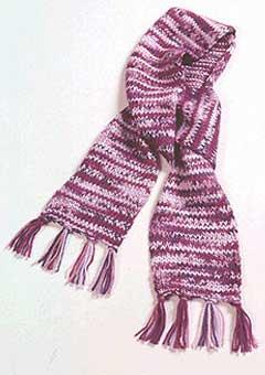 Short & Sweet Knit Scarf