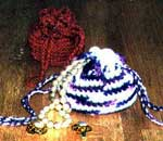 crochet jewelry bags photo