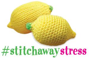 #stitchstressaway and 3 lemons