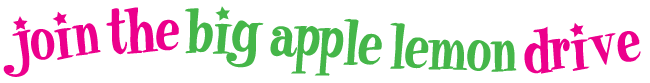 Join the Big Apple Lemon Drive