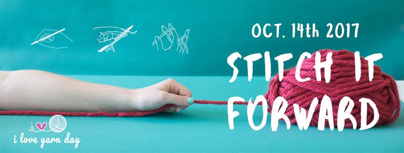 Facebook I Love Yarn Day banner