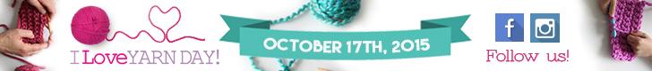 728x90 I Love Yarn Day banner