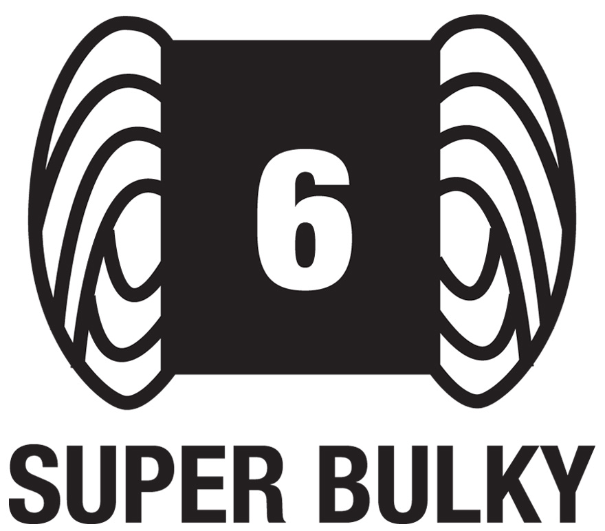6 Super Bulky